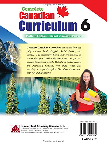 Complete Canadian Curriculum 6 (Revised & Updated): A Grade 6
