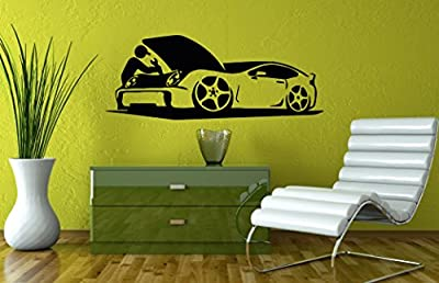 Wall Vinyl Sticker Decal Art Design Auto Repair Shop Sign Room Nice Picture Decor Hall Wall Chu830