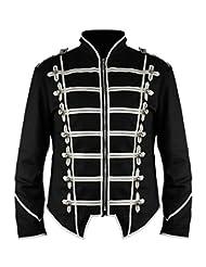 New Steampunk Emo Punk Goth MCR Military Drummer Parade Jacket