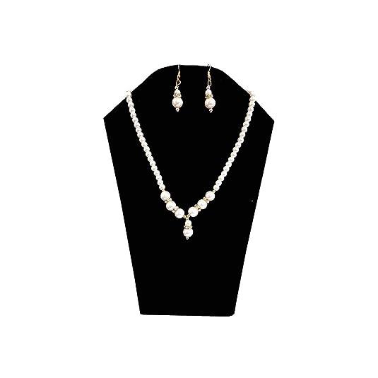 Salvus App Solutions Stone Jewel Set White Best Price in