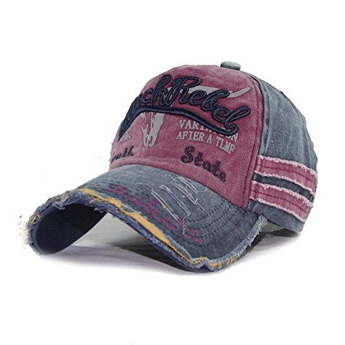 Meaeo Gorras De Béisbol Papá Mujeres Hueso Caps Hat Hat Vintage Unisex Ajustable Para Hombres