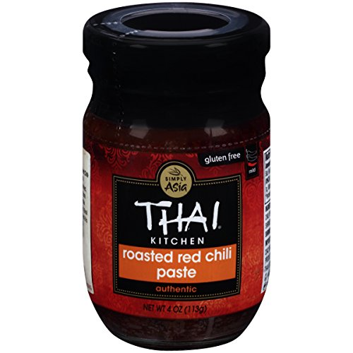 (Thai Kitchen Gluten Free Roasted Red Chili Paste, 4 oz (Pack of 12))