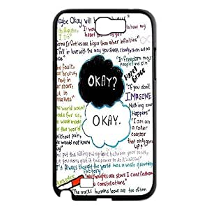 Custom The Fault In Our Stars Cell Phone Case, Custom Durable Cover Case for Samsung Galaxy Note 2 N7100 The Fault In Our Stars