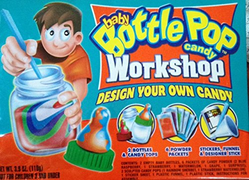 Topps - Baby Bottle Pop Candy Workshop - Design Your Own Candy