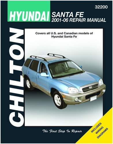 chilton hyundai santa fe repair manual