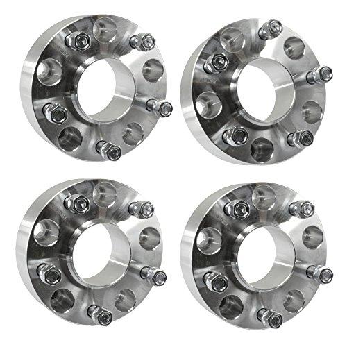 """UPC 753677229501, (4) 50mm ( 2.0"""" ) 5x5.5 Hubcentric Wheel Spacers 5x139.7 Fits Ram 1500 2012+ Trucks 14x1.5 Studs"""
