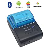 Portable Mini bluetooth Printer P2 Thermal Receipt Printer Bluetooth 4.0 Rechargeable Wireless Portable Printer 58mm Paper For Android IOS Windows