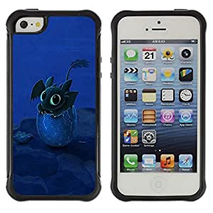 SHIMIN CAO@ Design Happy Cute Dragon Rugged Hybrid Armor Slim Protection Case Cover Shell For iphone 5S CASE Cover ,iphone 5 5S case,iphone5S plus cover ,Cases for iphone 5 5S