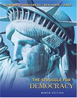Amazon. Com: the struggle for democracy (7th edition.