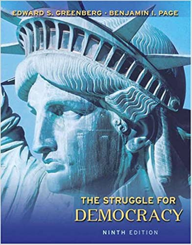 The struggle for democracy 9th edition edward s greenberg the struggle for democracy 9th edition edward s greenberg benjamin i page 9780205648467 amazon books fandeluxe