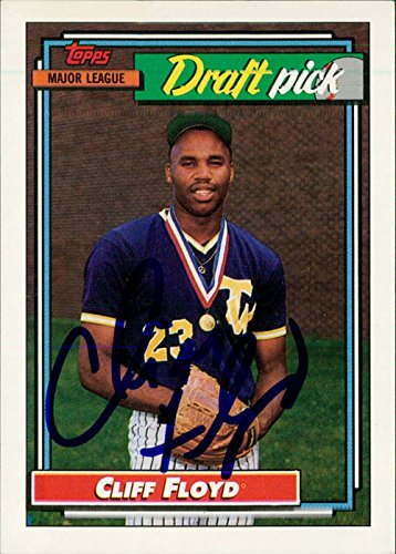 Powers Collectibles Signed Floyd, Cliff 1992 Topps Baseba...