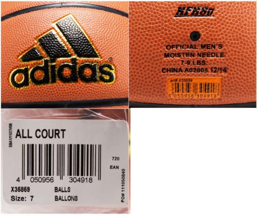 adidas basketball ball review