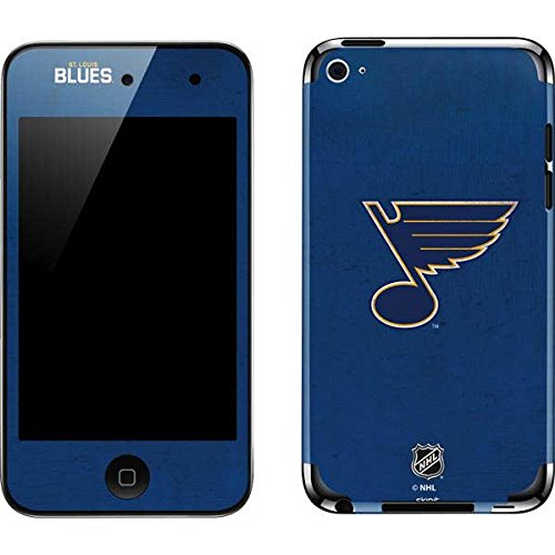 NHL St. Louis Blues iPod Touch (4th Gen) Skin - St. Louis Blues Distressed Vinyl Decal Skin For Your iPod Touch (4th - Ipod Blues Skin Louis