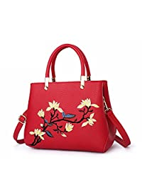 LadyHere Elegant Simple Exquisite Pattern Single Shoulder Hand Crossed Female Bag