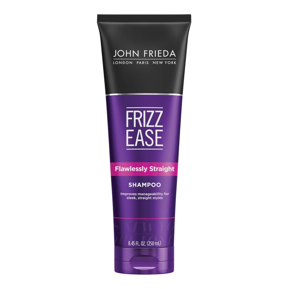 John Frieda Frizz Ease Flawlessly Straight Shampoo, Keratin Infused Shampoo, for Instantly Easy Straight Styling, 8.45 Ounces