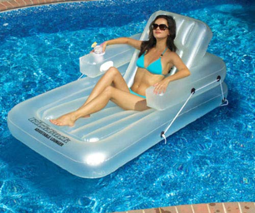 INHOME Swimming Pool Inflatable Lounge Chair ()