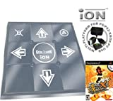 Dance Dance Revolution iON Metal Dance Pad for PS2 + Dance Dance Revolution DDR X (PS2)