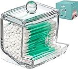 Qtip Cotton Swab Dispenser Holder