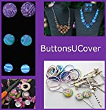 ButtonsUCover 100 Cover Buttons with Assembly Tool