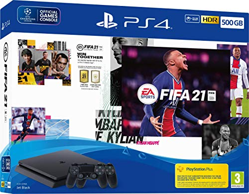 EA Sports Fifa 21 500GB PS4 Console + Second DualShock 4 Wireless Controller Bundle (PS4)