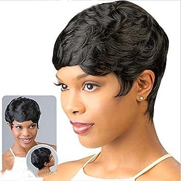 Amazon.com : Short Pixie Cut Hair Short Wavy