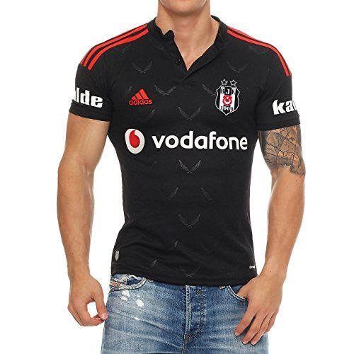 93B3 Adidas Besiktas BJK 14 Istanbul Trikot Fußball Shirt Auswärts B21492 L
