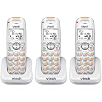 VTech SN6107 Expansion Cordless Handset / Charger DECT 6.0, 1.9GHz (3-Pack)