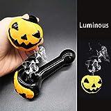 "4.3"" Handmade Halloween Luminous Pumpkin Tobacco"