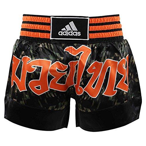 Shorts Thai Black Adidas orange Boxe Camo 8q7v4