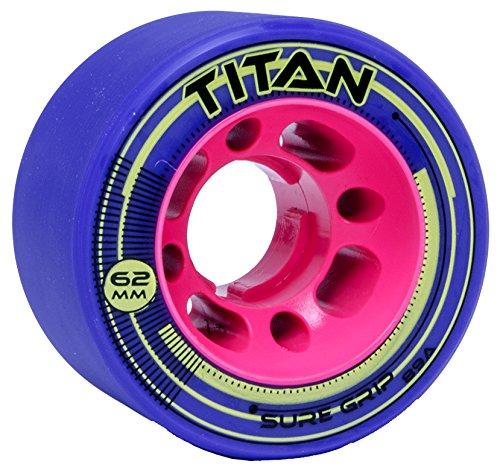 Sure-Grip Titan Derby Speed Wheels 62 Purple
