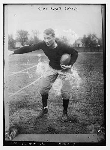 1911 Photo Capt  Buser   Wisc   Alfred Buser  Captain Of The Undefeated 1912 University Of Wisconsin Football Team   Source  Flickr Commons Project  2008 And Http   Nadinegoff Blogspot Com 2008 03 Som