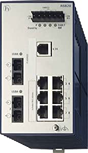 Hirschmann azul inet. Switch Ethernet RSB20-0800M2M2SAABHH red switch 4002044244279