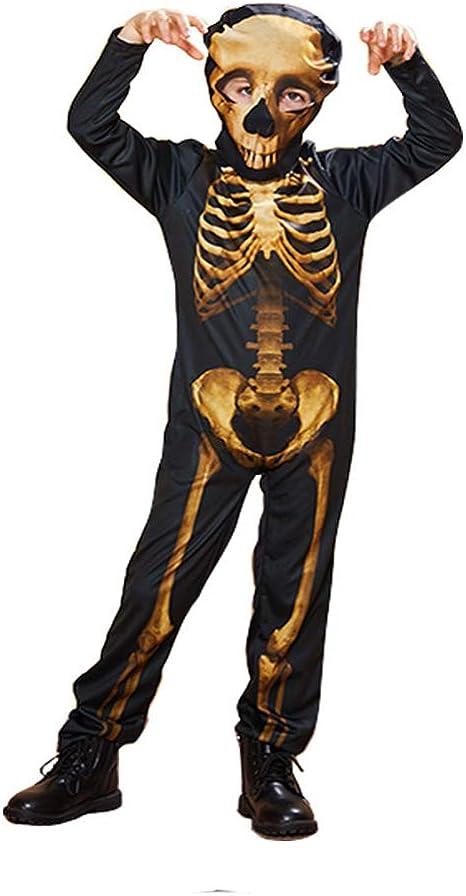 SvdgBjwoemu Vestidos De Halloween Esqueleto Fantasma Disfraz De ...