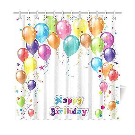 Amazon.com: Feliz Cumpleaños globos de regalo impermeable ...