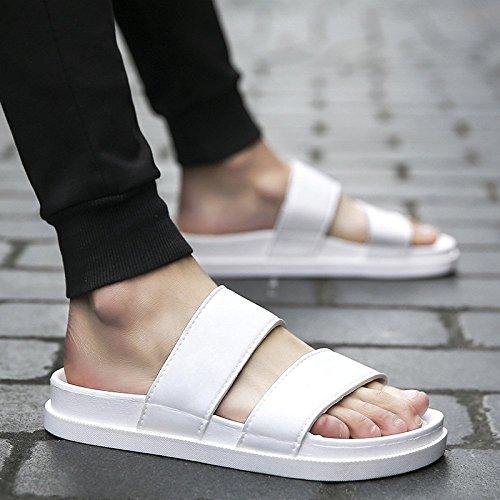 da parola degli estate scarpe degli spiaggia uomo uomini suola usura antiscivolo bianca uomo uomini marea da da WFL trascinare uomo pantofole Pantofole sandali spessa da con YaagUp