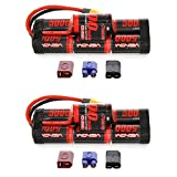 Venom 8.4V 5000mAh 7-Cell Hump NiMH Battery with Universal Plug (EC3/Deans/Traxxas/Tamiya) x2 Packs