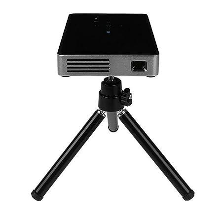 JIANFCR 1080P HD HDMI Entrada Mini Smart Micro DLP Proyector, WiFi ...