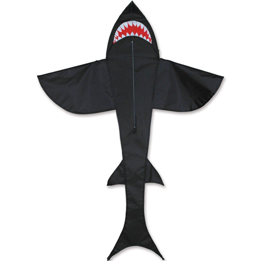 Premier Kites 5 Ft. Shark Kite - Black by Premier Kites
