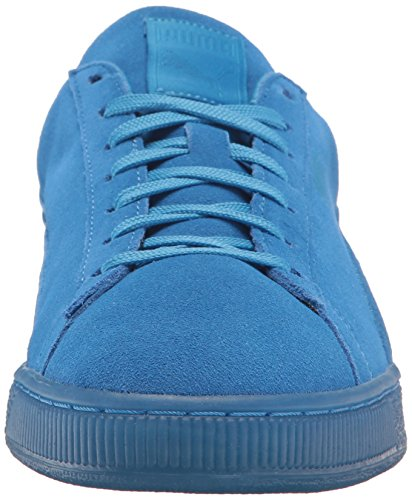 PUMA Suede Classic Badge Iced Fashion Sneaker, French Blue, 7 M US