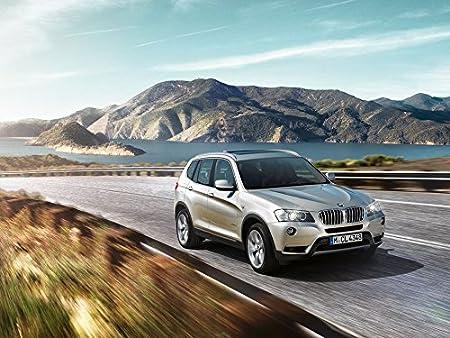 BMW X3 Poster Seda Cartel On Silk <80x60 cm, 32x24 inch ...