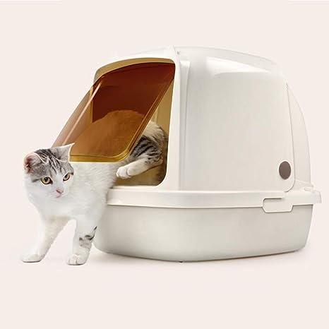 Caja de arena para gatos Extra grande, cápsula espacial para gatos ...