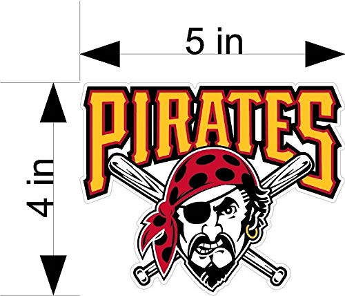 (Pittsburgh Pirates Baseball car & Truck Vehicle Decals/Stickers)
