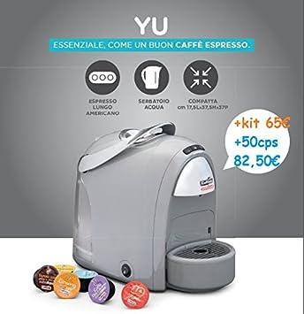 YU Caffitaly Professional Máquina de café Nuova + Kit de degustación: Amazon.es: Hogar