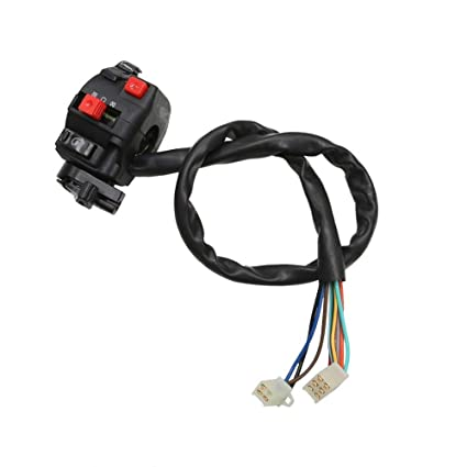 amazon com: 9 pin 9wire kill light starter choke switch for 90cc 110cc atv  chinese taotao roketa: automotive
