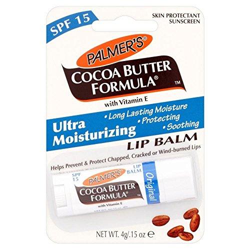 Raspberry Spf 15 Lip Balm - Palmer's Cocoa Butter Formula Moisturizing Lip Balm with Vitamin E & SPF 15 - Pack of 2