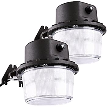 brizled led outdoor barn light photocell included 35w 250300w equiv