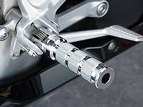 i5 Chrome Foot Pegs for Suzuki SV 650 GSXR600 GSXR750 GSXR1000 GSXR 600 750 1000 TL Hayabusa