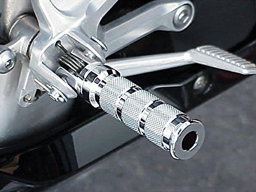 - i5 Chrome Foot Pegs for Suzuki SV 650 GSXR600 GSXR750 GSXR1000 GSXR 600 750 1000 TL Hayabusa