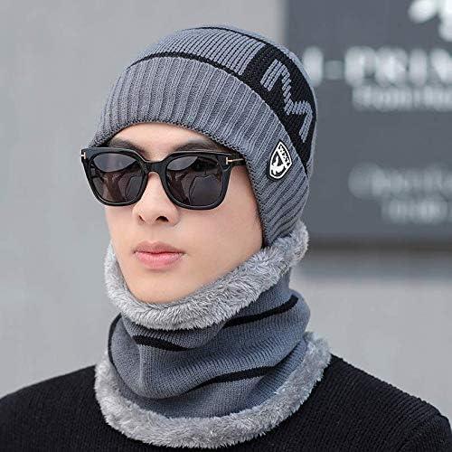 ERKEJI Sombrero de Invierno de los Hombres Gorros de Invierno para ...