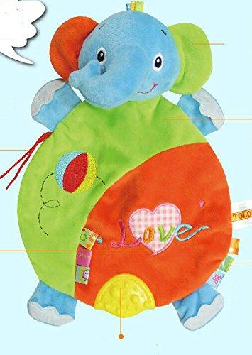 La De Glower Elefante Mano Sun Juguete Marioneta Del 29WHDYEI